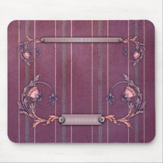 Purple Red Liberty Upholstery Mousepad