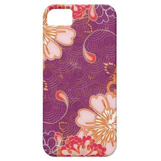 Purple Red Pink Floral iPhone iPad iPod Razr Case