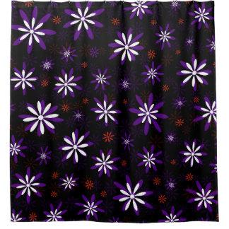 purple flower shower curtains zazzle