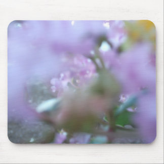 Purple Redbuds Abstract Mouse Pad