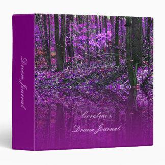 Purple Reflections binder