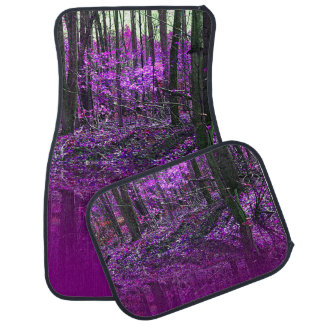 Purple Reflections Car Floor Mat