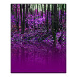 Purple Reflections poster