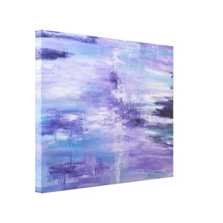 purple reign by DAL Canvas Print