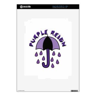 Purple Reign iPad 2 Skins