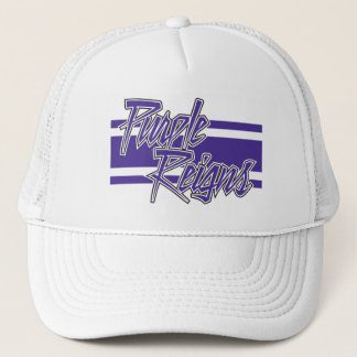 Purple Reigns N-Stripe on Hats -