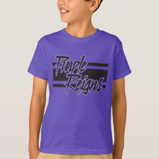 Purple Reigns N-Stripe on Kids' Gear - T-Shirt