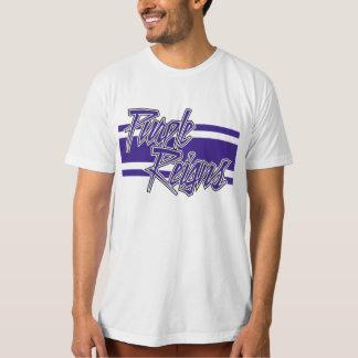 Purple Reigns N-Stripe on Men's Gear - T Shirt