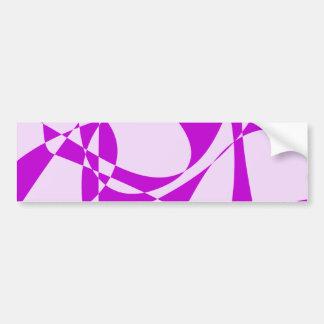 Purple Resolution Bumper Sticker