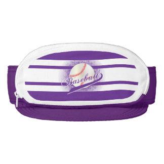 Purple Retro Baseball Style Visor