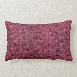 Purple Retro Linen Texture Pillow