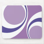 purple retro mouse pads