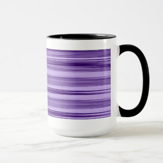 Purple retro mug