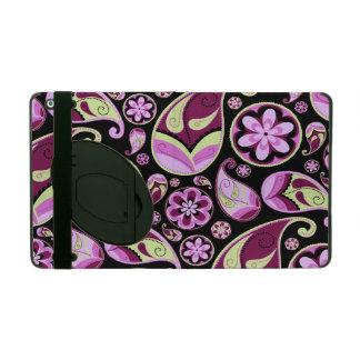Purple Retro Paisley iPad Case
