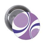 purple retro pinback buttons
