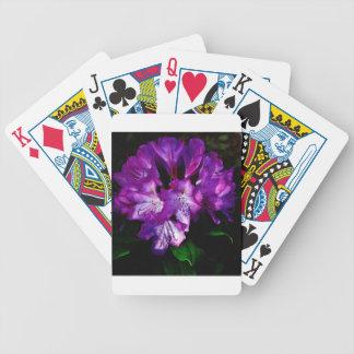 Purple Rhododendron Card Deck