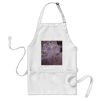 Purple Rhododendron Flower Apron