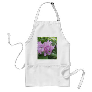 Purple Rhododendron flowers Adult Apron