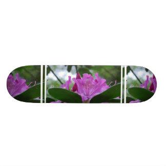 Purple Rhododendron Skateboard