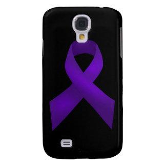 Purple Ribbon Awareness Lupus Samsung Galaxy S4 Covers