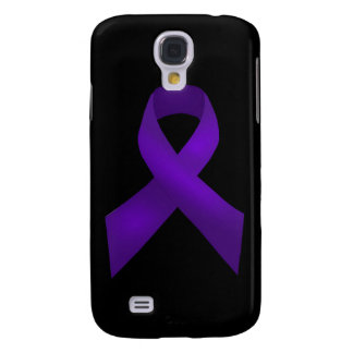 Purple Ribbon Awareness Lupus Galaxy S4 Case