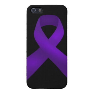 Purple Ribbon Awareness Lupus iPhone SE/5/5s Cover