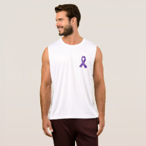 Purple Ribbon Awareness Tank Top