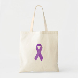 PURPLE RIBBON CAUSES support for Alzheimer's disea Bag