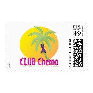 Purple Ribbon - Club Chemo Stamps