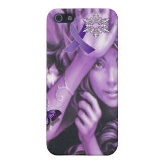 Purple Ribbon Fairy Awareness iPhone Speck 4 Case iPhone 5 Cover