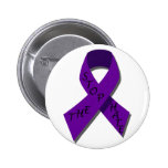 Purple Ribbon.Stop The Hate.1 Pin