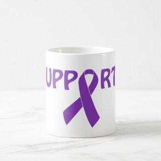 Purple Ribbon Support! Coffee Mug