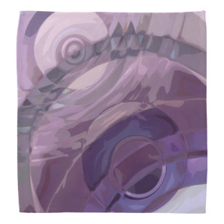 Purple Ripples Bandana