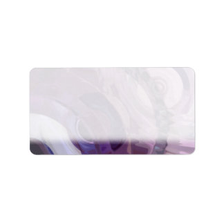 Purple Ripples Label