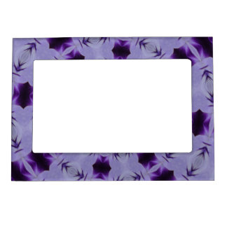 Purple Ripples Magnetic Frame