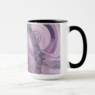 Purple Ripples Mug