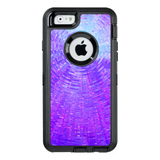 Purple Ripples OtterBox Defender iPhone Case