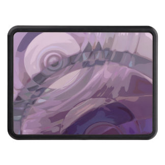 Purple Ripples Tow Hitch Cover