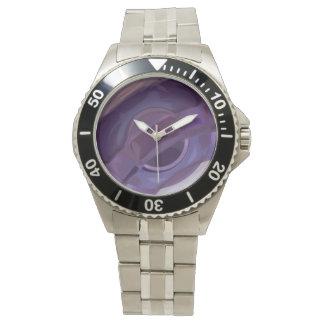 Purple Ripples Watch