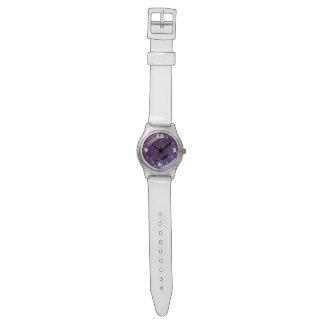 Purple Ripples Wristwatch