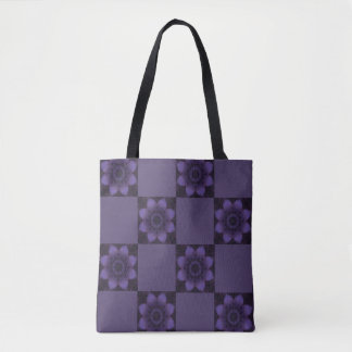 Purple River Reflection Tote Bag