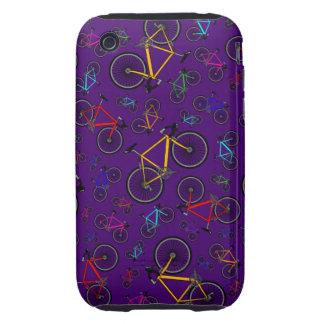 Purple road bikes tough iPhone 3 covers
