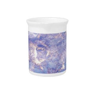 Purple Rocks Beverage Pitcher