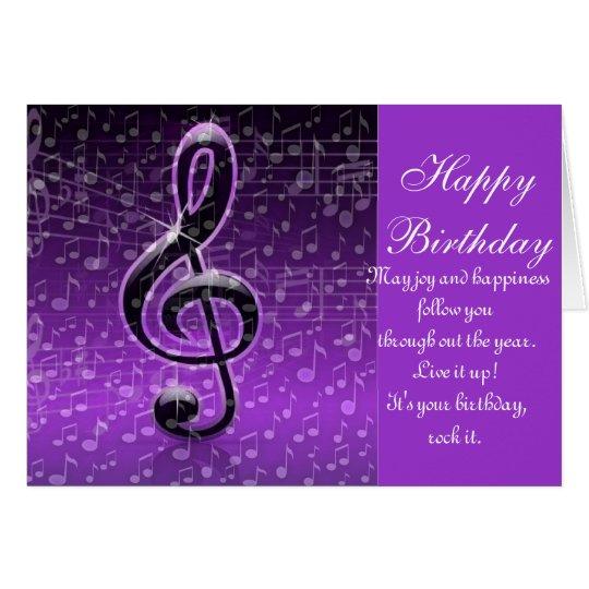Purple Rocks!_ Card