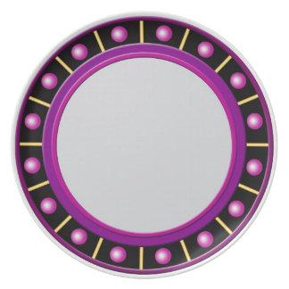 Purple Roman Plate