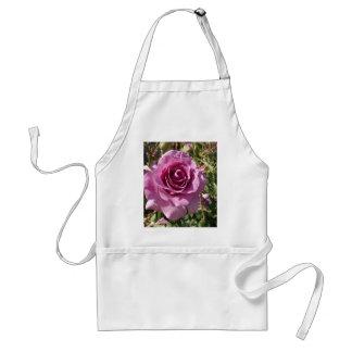 Purple Rose Adult Apron