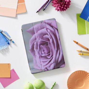 Bride Themed Purple Rose Blossoms Romantic Destiny's Destiny iPad Pro Cover