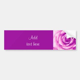 Purple Rose_ Bumper Sticker