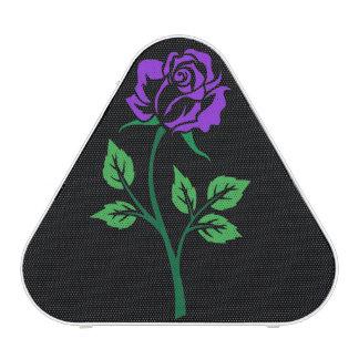 Purple Rose Customizable Bluetooth Speaker