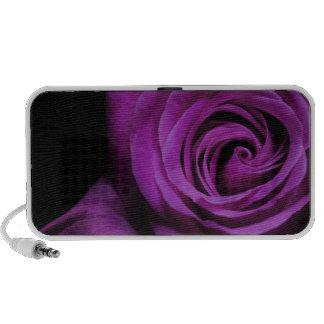 Purple Rose Doodle Speakers